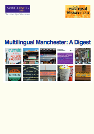 Front cover of: Multilingual Manchester: A Digest