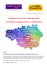 Front cover of: The School Language Survey in Manchester