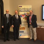 Polish ambassador helps to launch new Multilingual Manchester project
