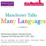 Event: 'Manchester Talks Many Languages'