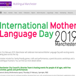 International Mother Language Day 2019