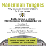 Event: 'Mancunian Tongues: Why language diversity matters for Manchester'