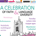 Event: A Celebration of Faith and Language Diversity